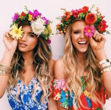 2015年の夏!花柄ネイルは元気いっぱいのカラフルポップがマスト♡