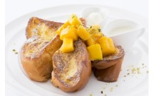 マンゴー×フレンチトースト!朝食の女王「サラベス」がフルーティーな新メニューを販売