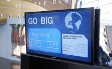 """旅の予行演習!?目的地の天候を体験できる""""最新マシン""""が空港にオープン"""