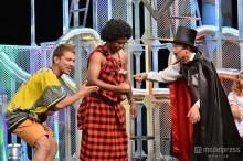元「あいのり」ヒデ、ケニア人とお笑いコンビ結成 テレビ初出演で持ちネタ披露