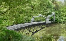 """まるでレース!3Dプリントロボットが作る美しすぎる""""鉄橋""""がオランダに登場"""