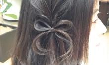 もう飾りはいらない?!髪で作るリボンでキュートに可愛く差をつけちゃお!♡
