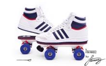 どんな靴でも大丈夫!ワンタッチのローラースケートがクールすぎる