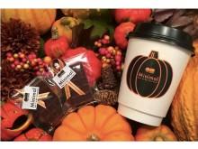 秋深まるハロウィンシーズンにうれしい「かぼちゃのホットチョコレートドリンク」が登場!