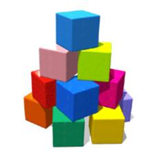ブロックネイルで好きな色をたっぷり使ったオリジナルネイルを楽しもう★