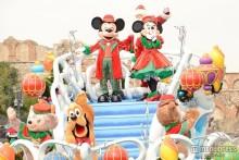 ディズニーシー、新ショーで様々なクリスマス披露 サンタも登場<詳細レポ/写真特集>