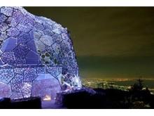 六甲山の冬の風物詩「六甲おろし」が光のアートに!「Lightscape in Rokko~Winter Version~」が開催