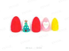 クリスマス〜お正月、成人式まで♡Xmasらしいジュエルネイル×トレンドMIXな和装ネイル31選
