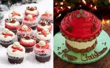 シェア専用特大サイズも!ロンドン発の人気カップケーキ店がクリスマス限定商品を発売