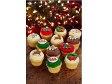 なんて可愛い!ローラズ・カップケーキ東京がクリスマスのテーブルを彩る6種類のカップケーキを発売!!