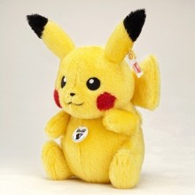 『 ピカチュウ 』のぬいぐるみがドイツの人形メーカー シュフタイフから発売