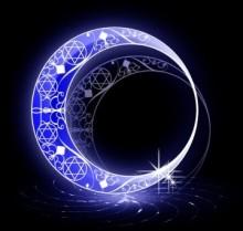 ショートネイルにもってこい♪夜空に浮かぶ月や星、宇宙の壮大な世界観をちっちゃなお爪にオン!