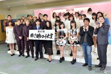 AKB48、三代目JSB、西内まりやらがレコ大に意気込み 2015年を振り返る