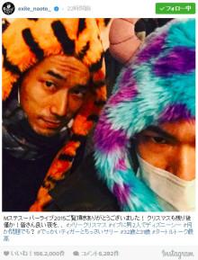 "EXILE NAOTO&小林直己の""仲良しクリスマスイブ""が話題に"