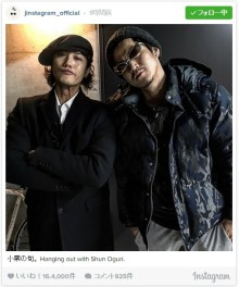 赤西仁&小栗旬の豪華イケメン2ショットに反響「かっこよすぎる」「夢のよう」