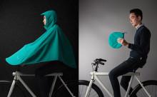 こんなの待ってた!雨の日も濡れない自転車用ポンチョが登場