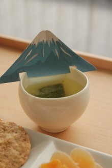 一服タイムにおうちで富士見?新春にピッタリの「Mt.FUJI TEA BAG」