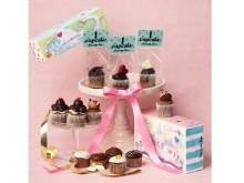 """今年の""""友チョコ・バレンタイン""""大本命!マカロンやボンボンショコラをのせた超キュートなカップケーキにフォーリンラブ"""