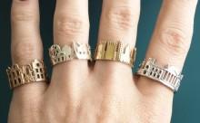 パリやNYも!ミニチュアランドスケープの指輪が可愛い