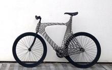 """曲線が美しい!世界初""""3Dプリンターで作った自転車"""""""