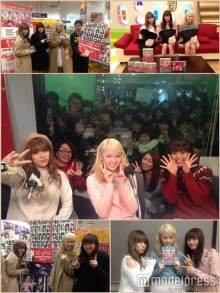 "E-girls、全メンバーで""笑顔""のサプライズ"
