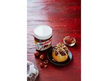 世界の「ヌテラ」と限定コラボ!ヘーゼルナッツ風味のもちもちシナモンロールが「シナボン」から登場