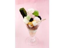 さくらアイスや抹茶わらびもちを盛り合わせたパフェに胸キュン!!ひなまつりのお祝いは「茶寮都路里」でいかが?