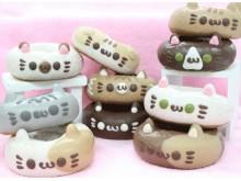 2月22日(ねこの日)を記念して、「イクミママのどうぶつドーナツ!」に10種類の猫ドーナツが勢ぞろい!