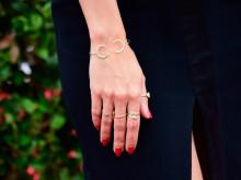 親指から小指まで。逆にかわいい指輪テク