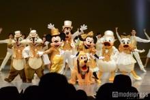 ミッキー&ミニーらが祝福、ディズニーの特別な日に初の試みも
