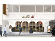 カフェ・ベローチェ神楽坂店が、Casual&Richに大変身!ワッフルやパスタなどフードメニューも充実