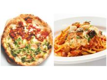 本場ナポリの味が楽しめる「Napoli's PIZZA & CAFFÉ」に、春をおいしく彩るハーフ&ハーフピッツァと生パスタが期間限定で登場!