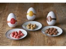 【小樽洋菓子舗ルタオ】「卵」の中からお菓子がころん♪イースターをおいしく祝うスイーツ3種が参上!