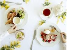 春のブランチ女子会はAfternoon Teaで決まり!新作ワッフルは、セイボリー(塩系)とスイーツ(甘系)のどちらがお好み?