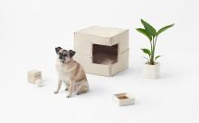 ワンコのおウチも模様替えを☆nendoがアレンジ自在な犬用グッズを発表