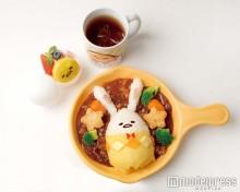 ぐでたまが可愛いウサギに大変身 大阪「ぐでたまかふぇ」でイースターをお祝い