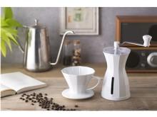 コーヒーハンター川島良彰氏と貝印が共同開発した自宅で最高においしく味わえる「The Coffee Dripper」