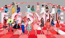 """E-girls、2ヶ月連続で""""POP&COOL""""な魅力放出"""
