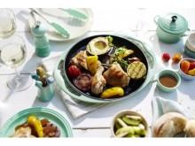 【ル・クルーゼ】アウトドア料理をオシャレに♪ グリル・ロンドの限定セットでテーブルを華やかコーディネート