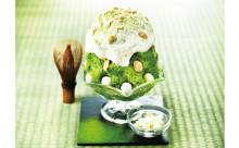 宇治抹茶入り♡「パブロ」のチーズタルト風かき氷が人気の予感