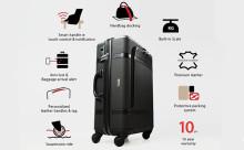 スマホ連動で旅を快適に!多機能すぎるスマート・スーツケース