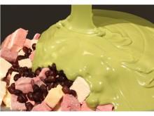 話題のパパブブレよりマシュマロ×チョコ×小豆で楽しい山道をイメージした「ロッキーロード」抹茶味が登場!