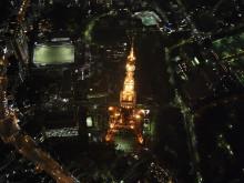 24時。東京の赤が消える瞬間 #東京タワー