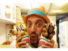 サクっ!モチっ!の新食感で話題沸騰♡先行販売で人気を博したニコラハウスの「パッフル」が原宿本店にお目見え!!