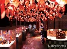 金魚1000匹が幻想的に舞い泳ぐ 「すみだ水族館」、夏の涼を楽しむ新展示
