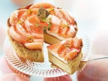 ジューシーな白桃がまるで花びらのよう♡チーズタルト専門店PABLOの新作をゲットするなら午前中が狙い目!