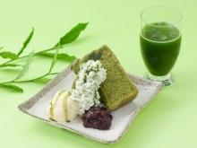 祇園本店限定!「茶寮都路里」から緑がまぶしい「新茶のシフォンケーキ」が発売