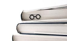 ハリポタふうメガネも♪読みかけの本に可愛いブックマークはいかが?