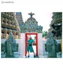 ローラ、タイ観光中の思い出ショットを公開 「しらなかった」異文化に驚き