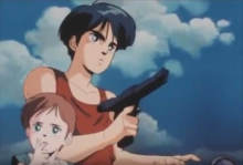 熱血アニメ列伝その6 人類の希望は3丁の銃!『 赤い光弾 ジリオン 』